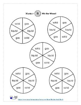 Matter: Win the Wheel Game
