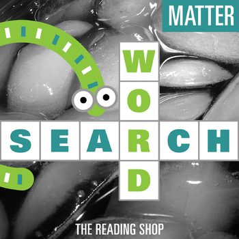 Matter Word Search Puzzle - 3 Levels Differentiated