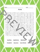 Matter Word Searches