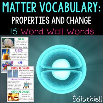 Matter Word Wall
