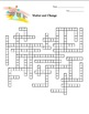 Matter and Change Crossword Puzzle (physical science)