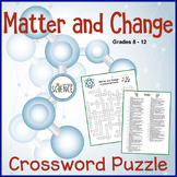 Matter and Change Crossword Puzzle