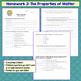 Matter and Change Homework (Elements, Compounds, Mixtures) Set of 2