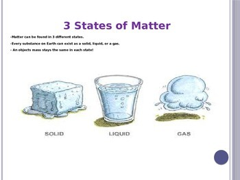 Matter and Mass & Chemical and Physical Changes PowerPoint