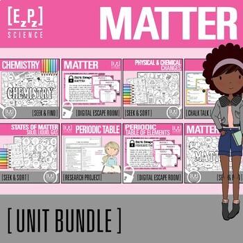 Matter and Chemistry Unit Bundle