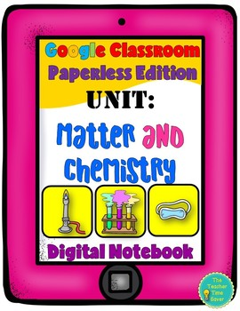 Matter and Chemistry- Physical Science Digital Interactive Notebook Bundle