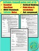 Matter and Chemistry Unit Bundle Editable PowerPoint, Notes, and Test