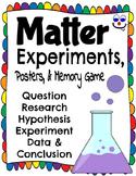 Matter Experiments