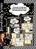 5th Grade Matter, Force and Energy Digital Interactive Not