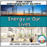 Energy in our Lives | Grade 1 Science Unit