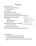 Matter and Energy Handout