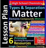 Matter and Energy - Organized and Engaging Worksheets for High School Chemistry