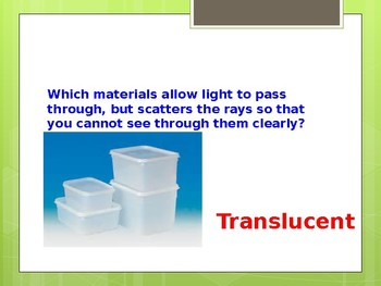 Matter and Energy PowerPoint