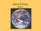 Matter and Energy powerpoint notes NewYork Chemistry curriclum