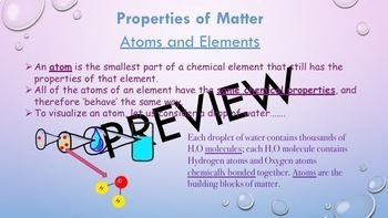 Matter and Its Interactions MS-PS1-2 Guided Notes