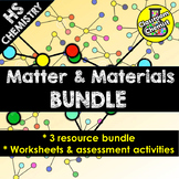 Matter and Materials Worksheets and Activities - High Scho