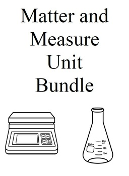 Matter and Measure Unit Bundle