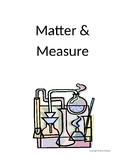 Matter and Measure Unit Worksheet Packet