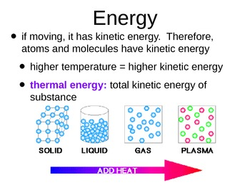 Matter and Temperature Notes