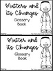 Matter and its Changes Vocabulary Book