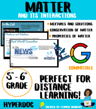 Matter and its Interactions Hyperdoc