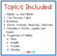 Matter and its Properties PowerPoint and Activities