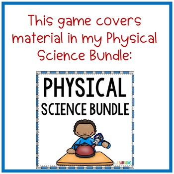 Physical Science Review Game {Freebie}