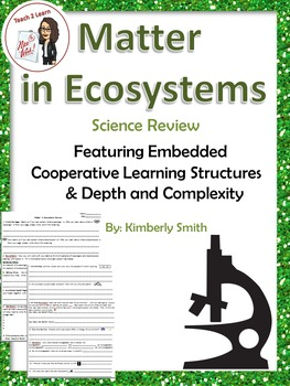 Science Review: Matter in Ecosystems