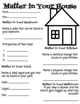 Matter in Your House
