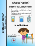 The States of Matter: Solids, Liquids and Gas