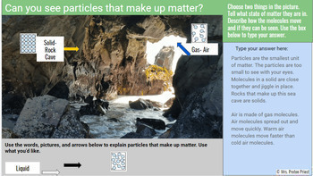 Matter is Made of Particles Digital Model for Google Classroom Distance Learning