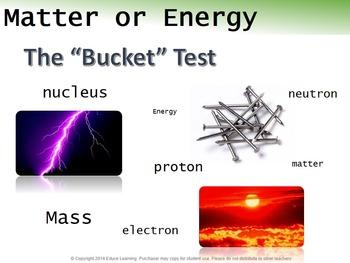Matter or Energy