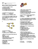 Matter worksheets and activities