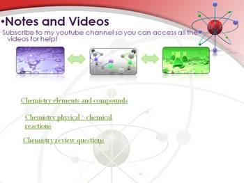 Matter/Basic Chemistry Unit- Part 8