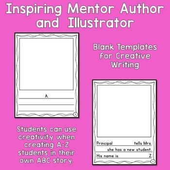 Matthew ABC Book Companion - Creative Writing Activity