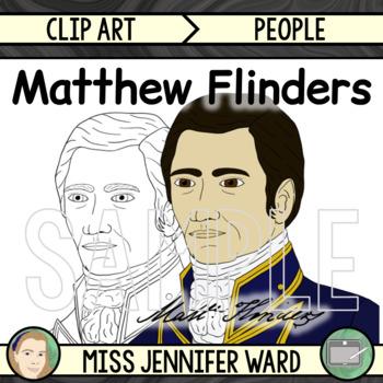 Matthew Flinders Clip Art