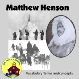 Matthew Henson PowerPoint Presentation. Co-discoverer of the North Pole.