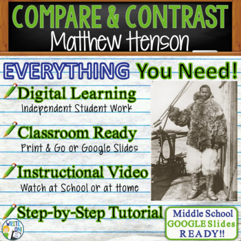 Matthew Henson Top of the World - Text Dependent Analysis Comparison Contrast