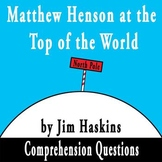 Matthew Henson at the Top of the World by Jim Haskins Comp