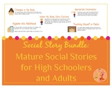 Mature Social Stories for High Schoolers and Adults