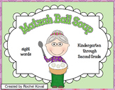 Passover Matzah Ball Soup - Sight words K-2