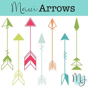 Maui Arrows Clipart