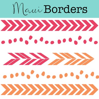 Maui Borders Clipart