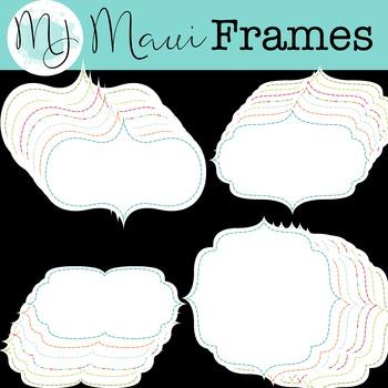 Maui Frames Clipart