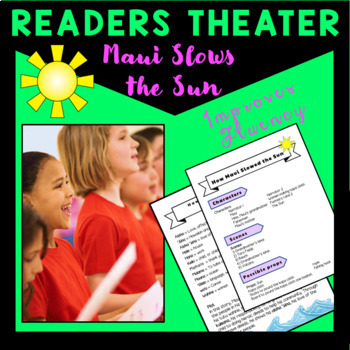 Maui Slows the Sun Readers Theater, based on a traditional