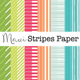 Maui Stripes Paper Set