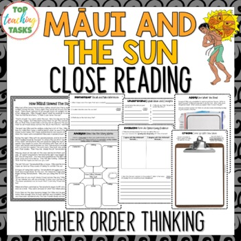 Maui and the Sun | Maori Myths and Legends Passage and Questions