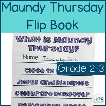 Maundy Thursday Flip Book
