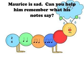 Rhythm Game, Maurice's Musical Adventure