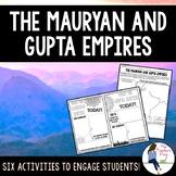 Mauryan and Gupta Empires Activities